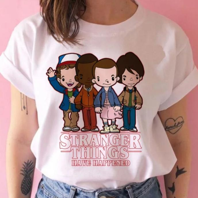 Tricou Stranger Things Anime 2 - Sabas