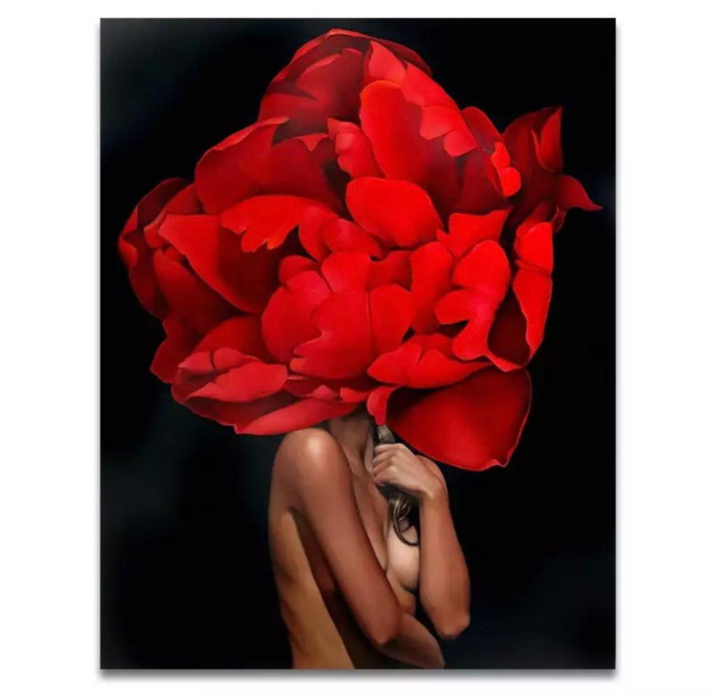 Tablou Art Red Flower - Sabas