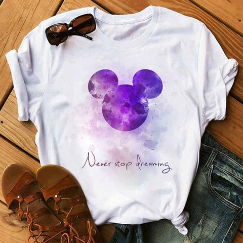 Tricou Never Stop Dreaming Mov