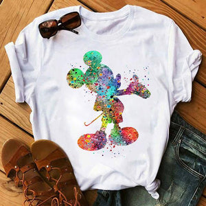 Tricou Mickey Paint