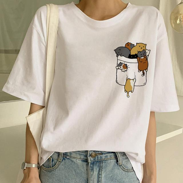 Tricou Oversized Mini Cats - Sabas
