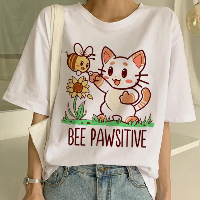 TricouOversized Bee Pawsitive - Sabas