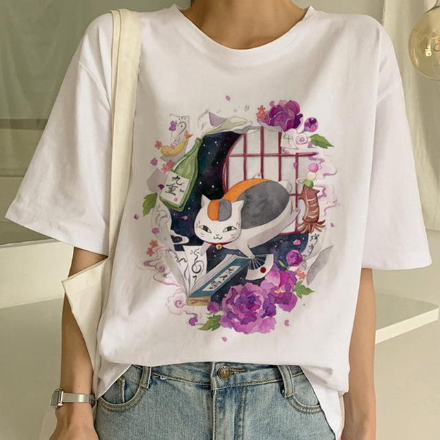Tricou Oversized The Japanese Cat - Sabas