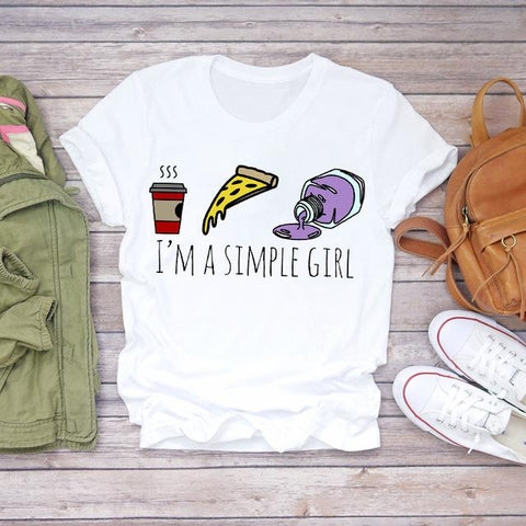 Tricou I'm a simple girl