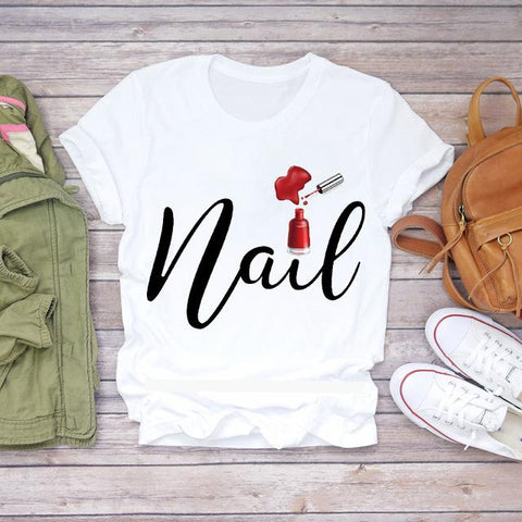 Tricou Red Nails