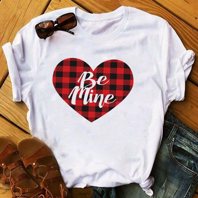 Tricou Be Mine White - Sabas