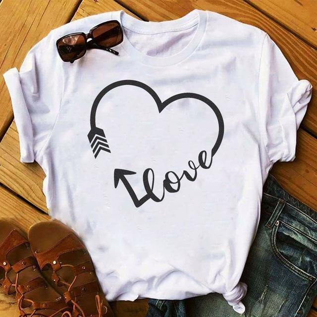 Tricou Love Heart Arrow - Sabas