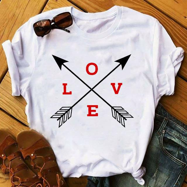 Tricou Mini Red Love 2 Arrows - Sabas