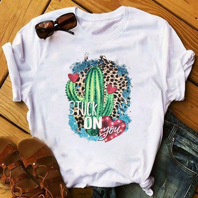 Tricou Cactus Leopard Stuck On You - Sabas