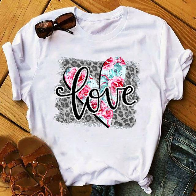 Tricou Love Heart Flower - Sabas