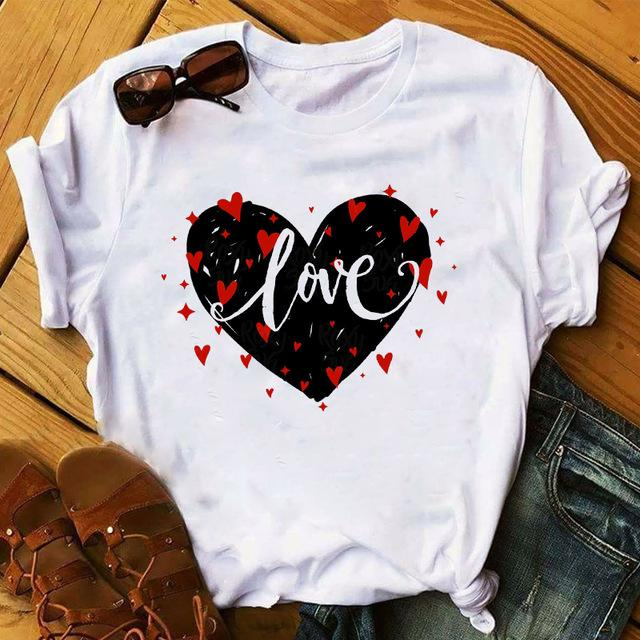 Tricou Black Heart Love - Sabas