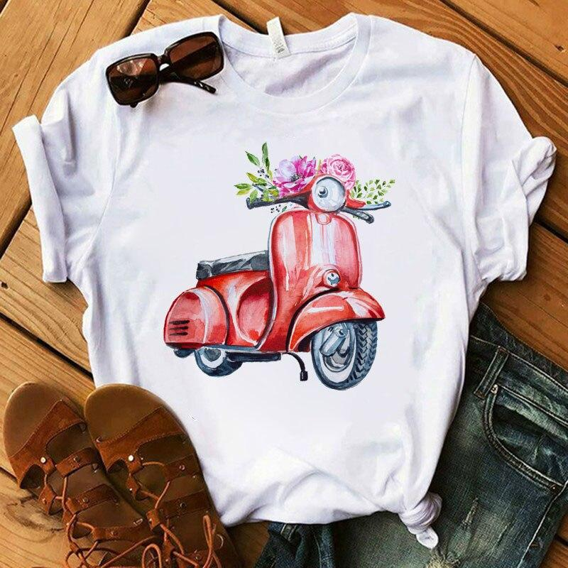 Tricou Red Motorcycle - Sabas
