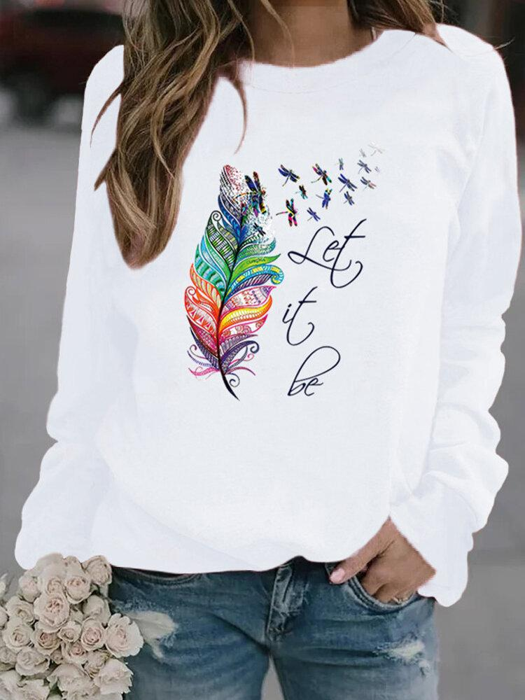 Bluza Let It Be Colorat - Sabas