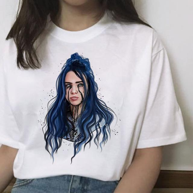 Tricou Billie Eilish Cry - Sabas