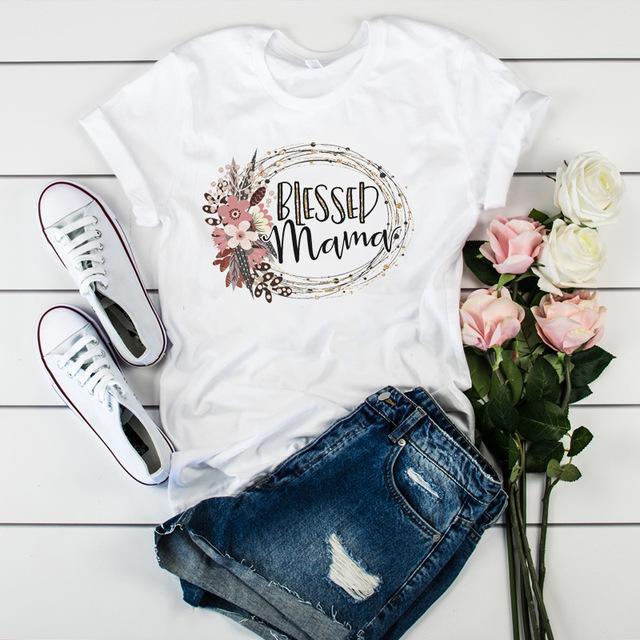 Tricou Blessed Mom - Sabas