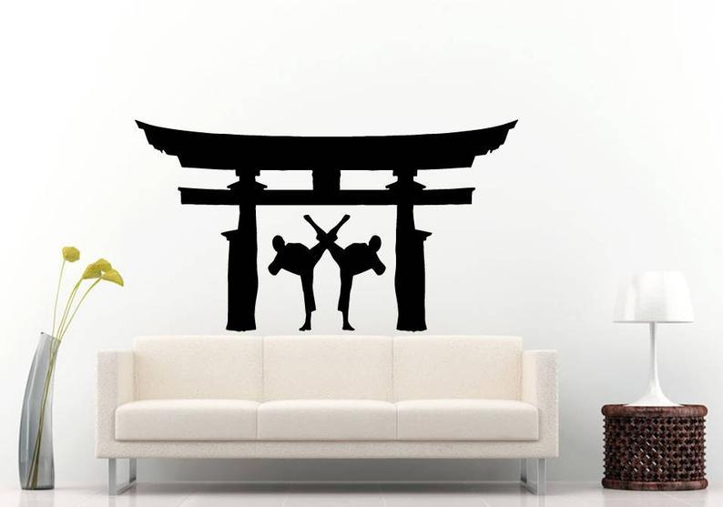 Karate Martial Wall Stickers - Sabas