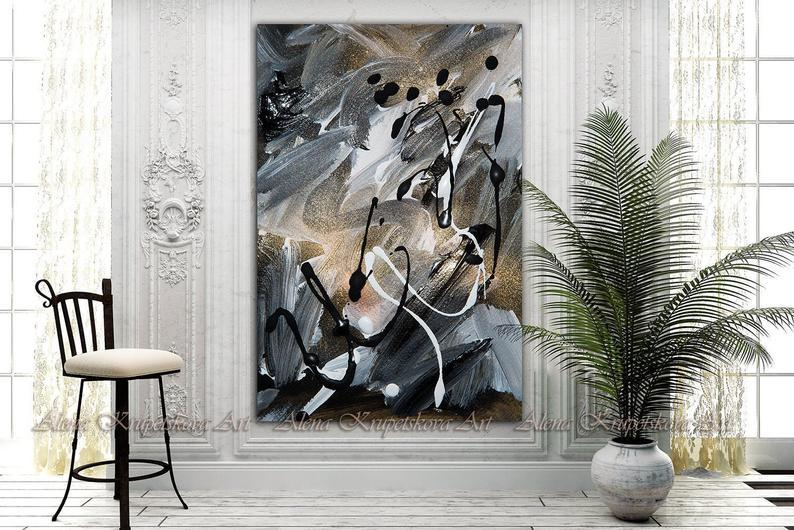Tablou Abstract Painting - Sabas