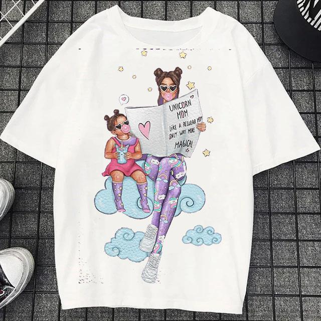 Tricou Oversized Unicorn Mom - Sabas