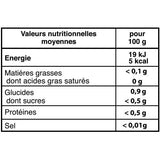 valeur nutritionelle mate frate mate