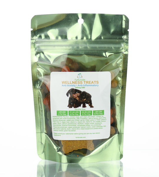 dog treats with CBD oil small bag