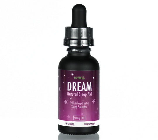 CBD oil natural sleep aid with melatonin