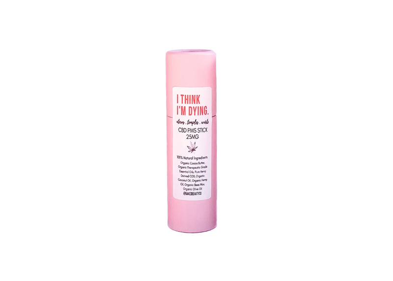 Womens Lips Temples Wrists Pink Topical Salves - Happy Hemp Mall