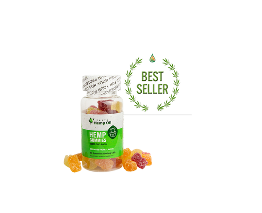 CBD Hemp Oil Candy Gummies - Happy Hemp Mall