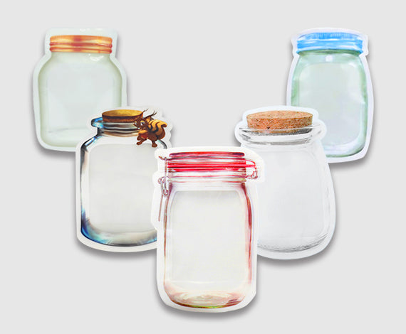 Jar Zip Lock Pouch