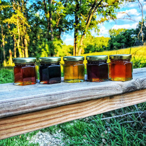 Raw Honey Sampler (5-jars)