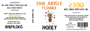Raw Jungle Mountain Flower Honey