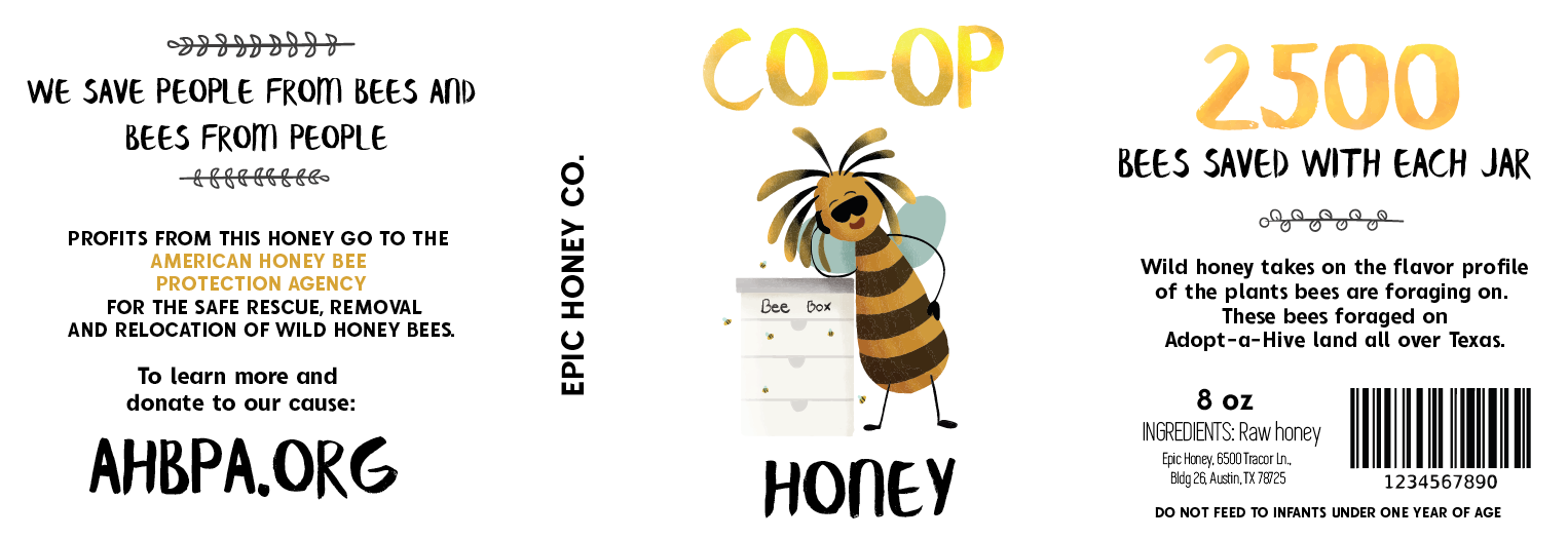 Texas Co-Op Dark Wild Honey