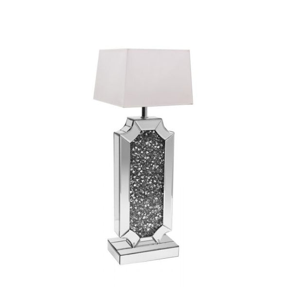 AC107 Table Lamp  Grey Mirror
