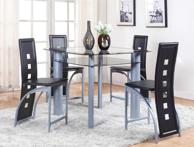 Echo 1770 5 pc Counter Height Dining Set