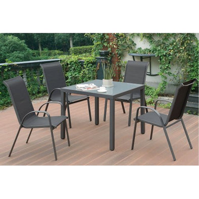 5 PCS PATIO TABLE SET 186