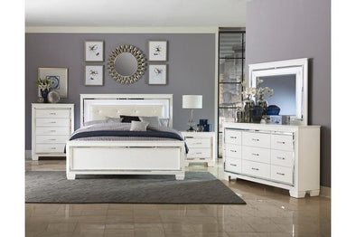 ALLURA LED LIGHTING BEDROOM GROUP -WHITE