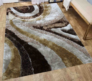 Signature Shaggy Area Rug (Beige) New-70