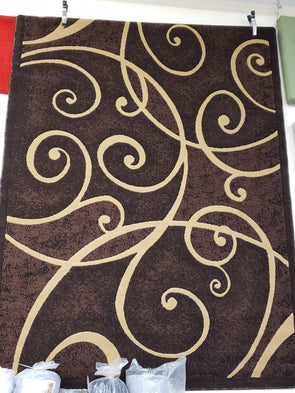 Palazo Area Rug Brown