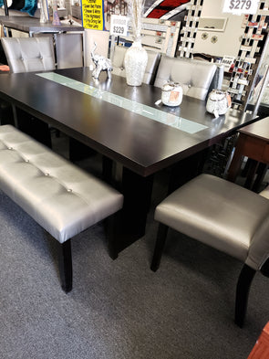 Dining Set RD-2200  Silver