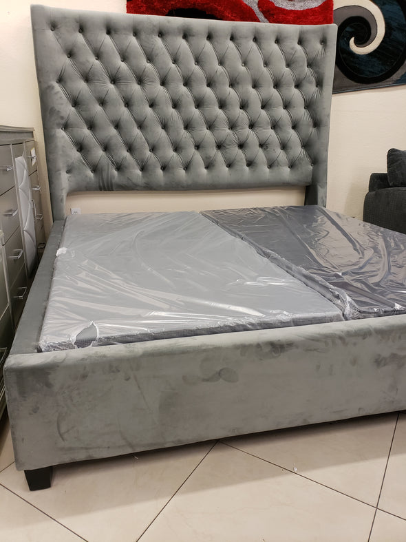 RB-1000 BED FRAME GREY