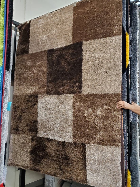 Chic Design Area Rug Brown TD290B7
