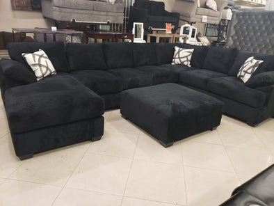 Polo RL-2000 Black Sectional