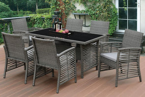 7 PCS PATIO TABLE SET 271