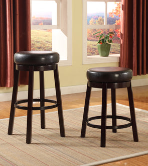 "2994 ESP WENDY BAR STOOL ESPRESSO 29"", 2 Pcs"