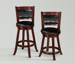 "2798 CECIL SWIVEL PUB STOOL 24"", 2 Pcs"