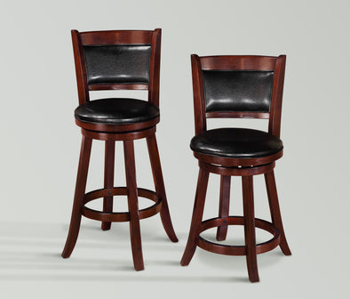 "2798 CECIL SWIVEL BAR STOOL 29"", 2 Pcs"