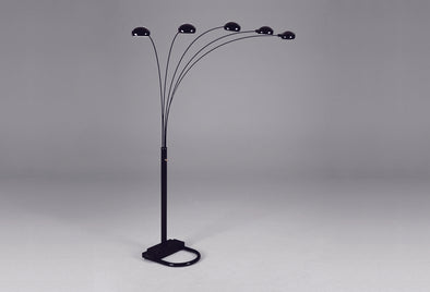 4888-ALL PEACOCK ARC FLOOR LAMP