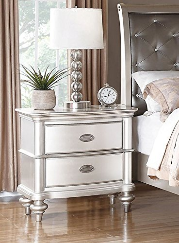 Nightstand F4390 Silver