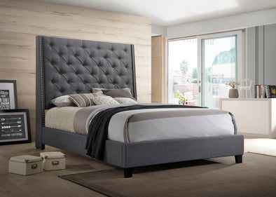 5265GY Chantilly Bed Grey