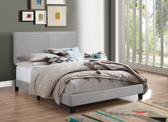 5271GY ERIN COMPLETE BED GREY