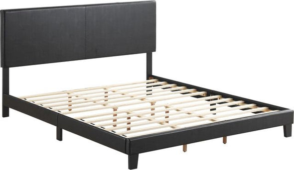 5281PU YATES BLACK PLATFORM BED